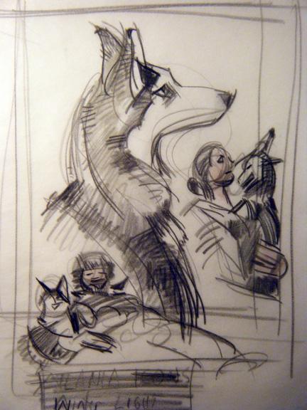 Asha sketch 2