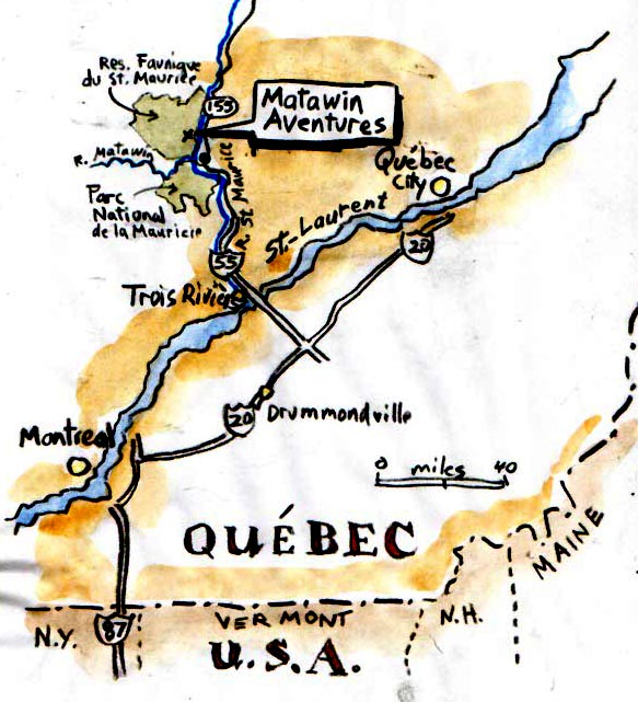 Quebec map-1