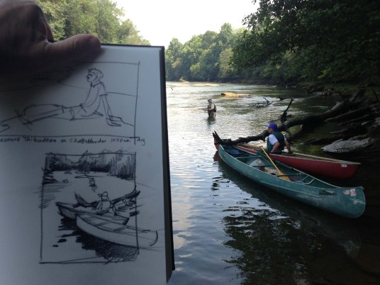 Rick Lubrandt on Chattahoochee
