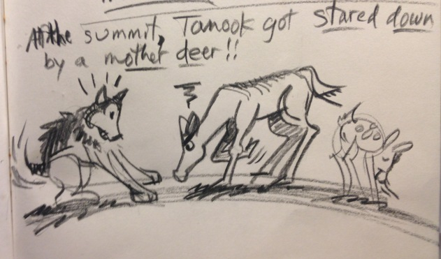 Tannok and deer