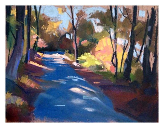 Wildcat Road in October