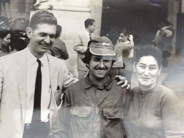 Cumming on assignment in Cuba 1957
