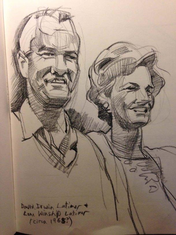 Lat and Lane sketch