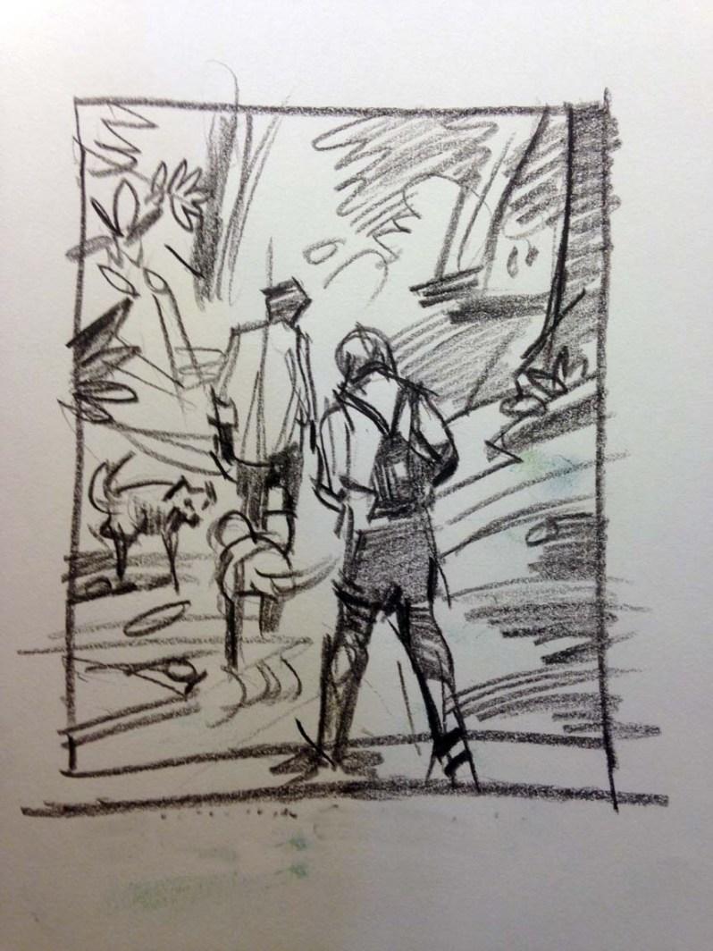 Panther Creek sketch