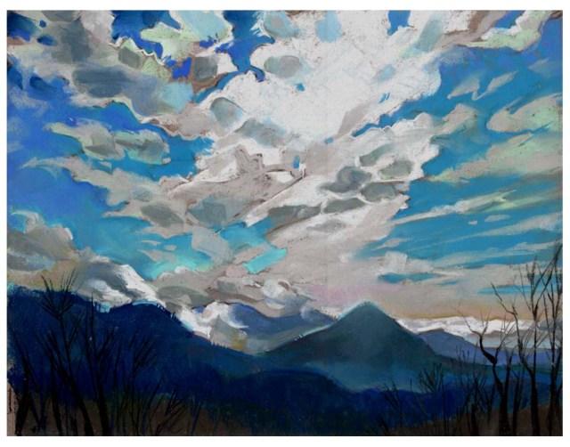 Winter cloud study 72